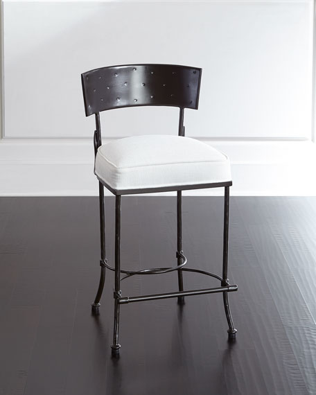 Patrick Iron Counter Stool