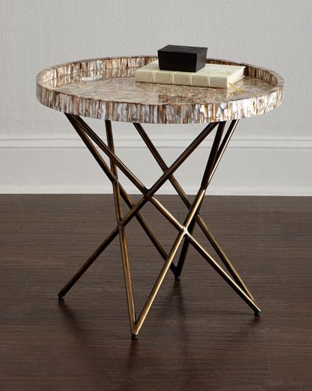 Marina Shell Side Table