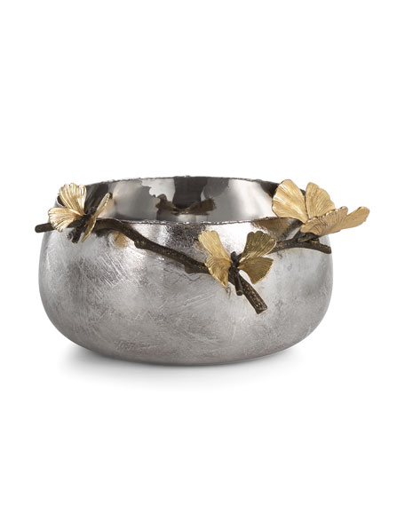 Michael Aram Butterfly Gingko Serving Bowl