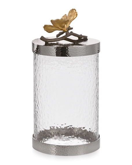 Michael Aram Butterfly Gingko Medium Canister