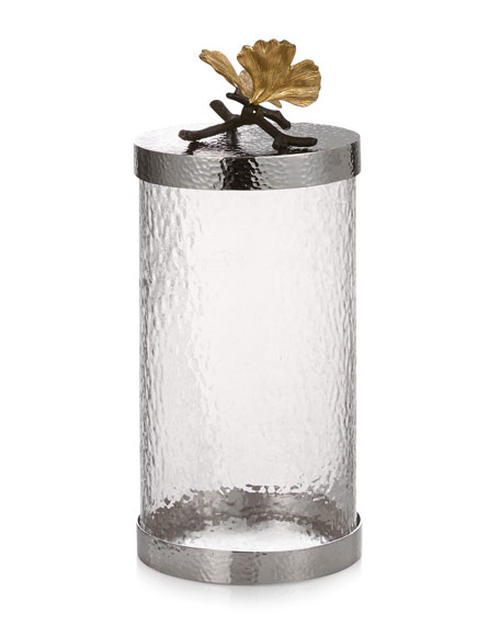 Butterfly Gingko Large Canister