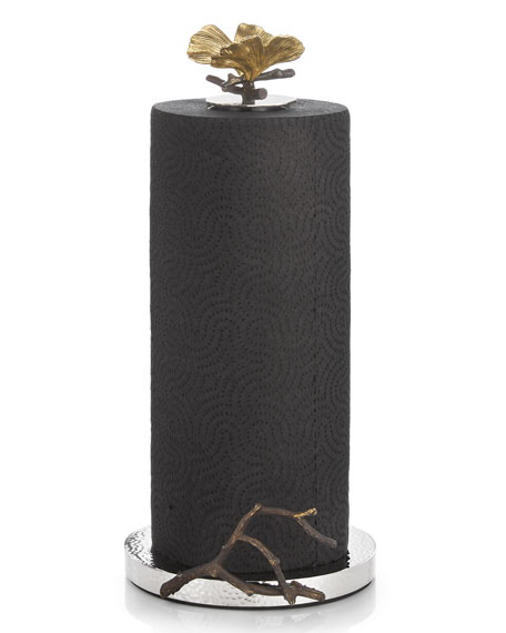 Michael Aram Butterfly Ginkgo Paper Towel Holder