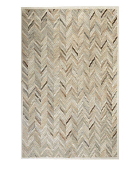 """Maguire Hairhide Rug, 9'6"""" x 13'6"""""""