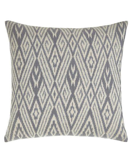 John Robshaw Fog Ikat Pillow, 20