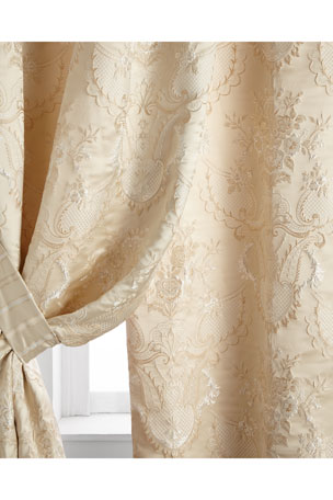 "Austin Horn Collection Two 52""W x 96""L Charlotte Curtains"