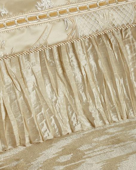 Queen Silk Dust Skirt