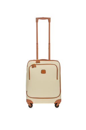 "Bric's Firenze Cream 21"" Carry-On Spinner Luggage"