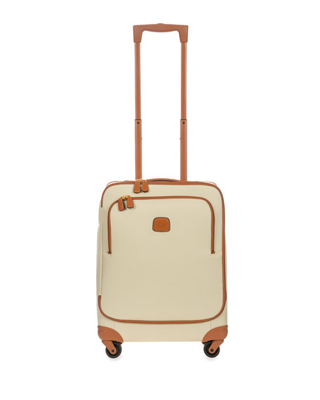 "Firenze Cream 21"" Carry-On Spinner"