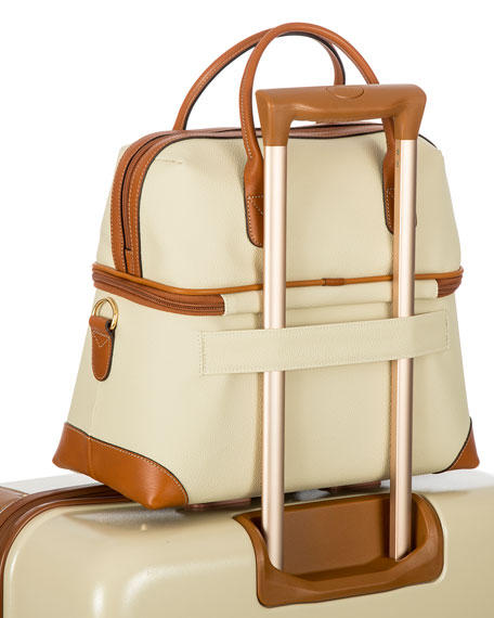 Firenze Cream Tuscan Train Case Luggage