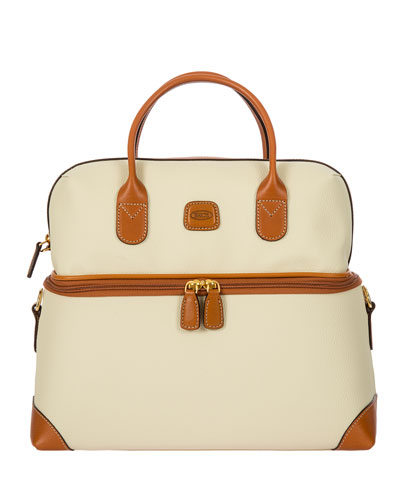 Bojola Cream Tuscan Train Case