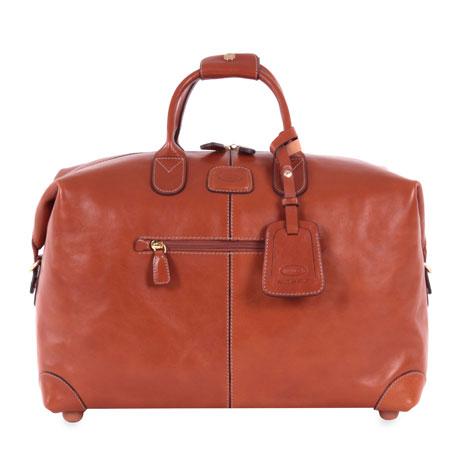 "Pelle Cognac 18"" Cargo Duffel Luggage"