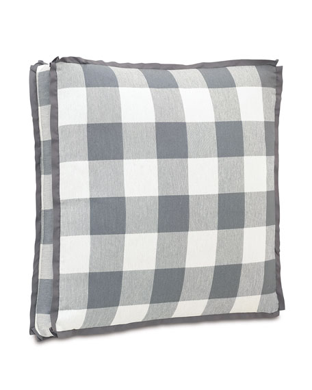 Eastern Accents European Hampshire Phipps Slate Pillow