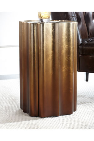 caracole Electra Golden Accent Table