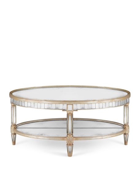 Keene Mirrored Coffee Table