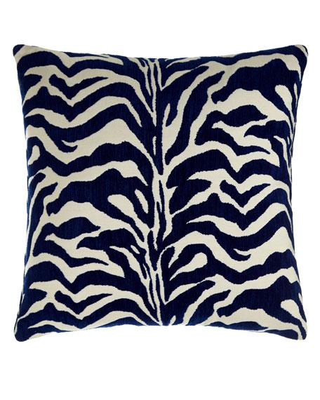 Elaine Smith Marine Zebra-Print Outdoor Pillow