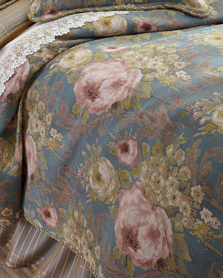 King Florabundance Duvet Cover