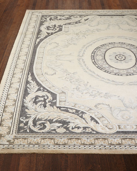 Ivory Jewel Rug & Matching Items