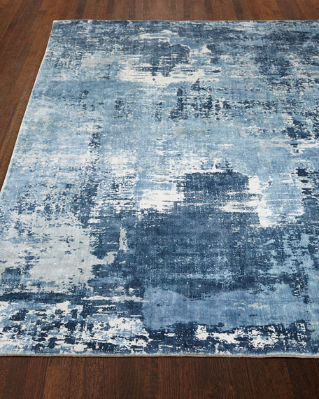 Exquisite Rugs Blue Horizon Rug, 9' x 12'