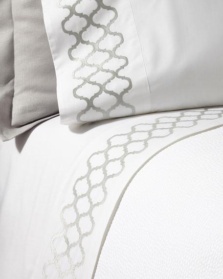 Two King Tangier Pillowcases