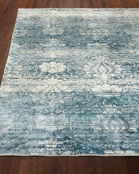 Exquisite Rugs Evening Blue Rug