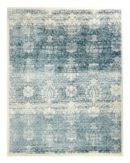 Evening Blue Rug, 9' x 12'