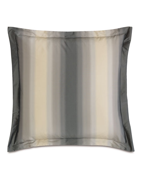 Soni Slated Euro Stripe Pillow