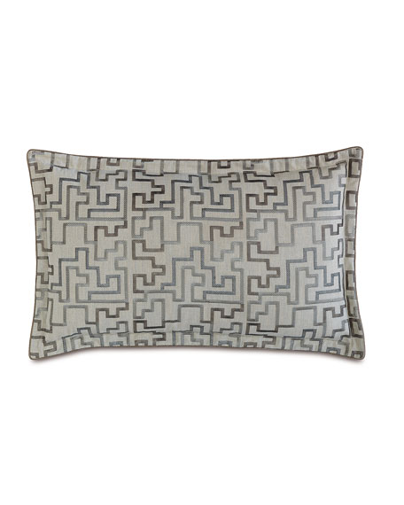 Eastern Accents King Ezra Embroidered Pillow