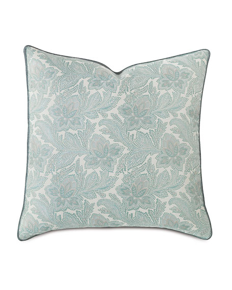 European Central Park Floral Pillow