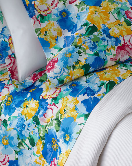 Two King 300TC Ashlyn Floral Pillowcases
