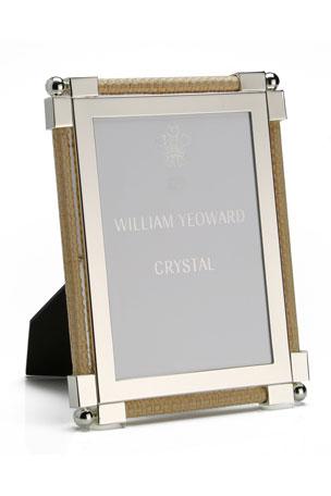 "William Yeoward Classic Raffia 5"" x 7"" Picture Frame"