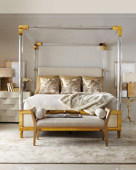 Hayworth Golden Bench