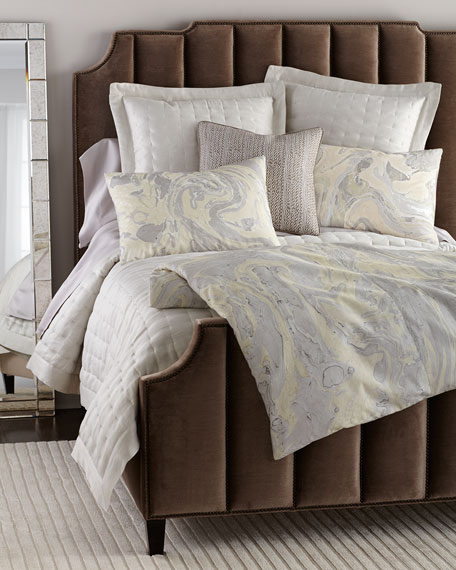 Bree Channel-Tufted King Bed