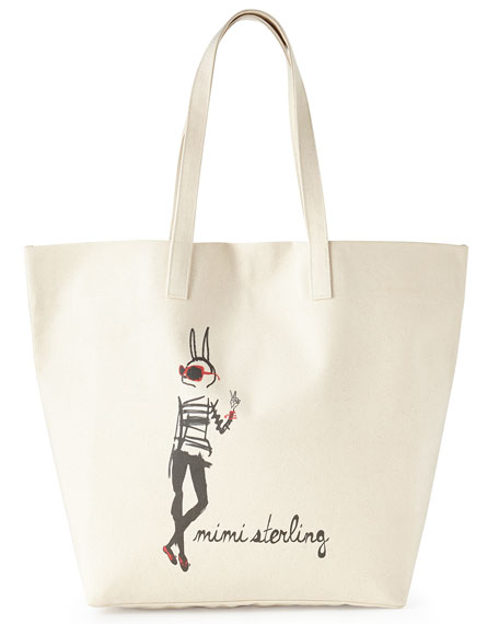 Isabelle the Bunny Big Bag Tote