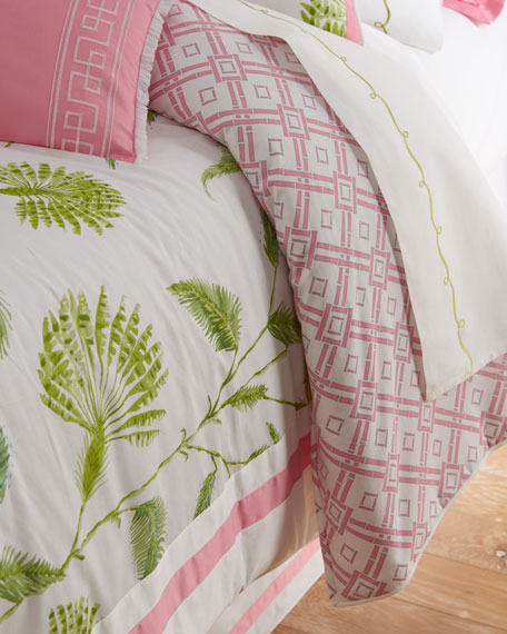 Dena Home King Palm Court 4-Piece Comforter Set