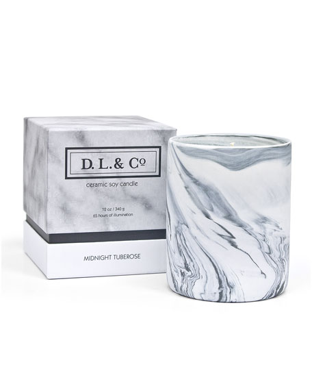 D.L. & Company Midnight Tuberose Candle