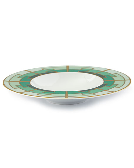 Emerald Soup Plate