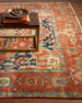 Image 2 of 2: Maida Serapi Rug, 6' x 9'