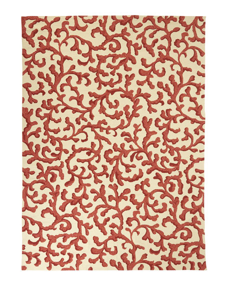 "Marinda Indoor/Outdoor Rug, 9'3"" x 13'"