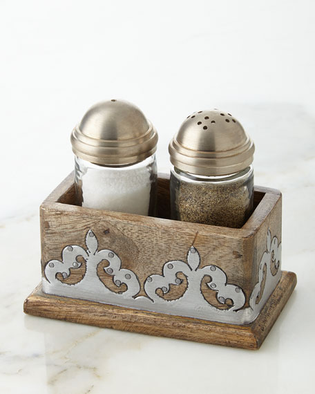GG Collection Heritage Salt & Pepper Shakers