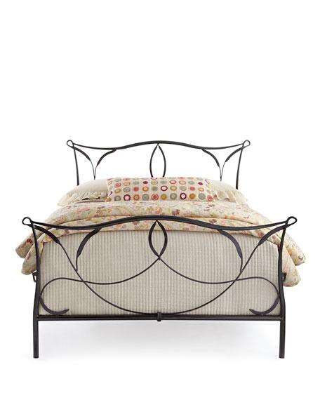 Burton Iron Queen Bed