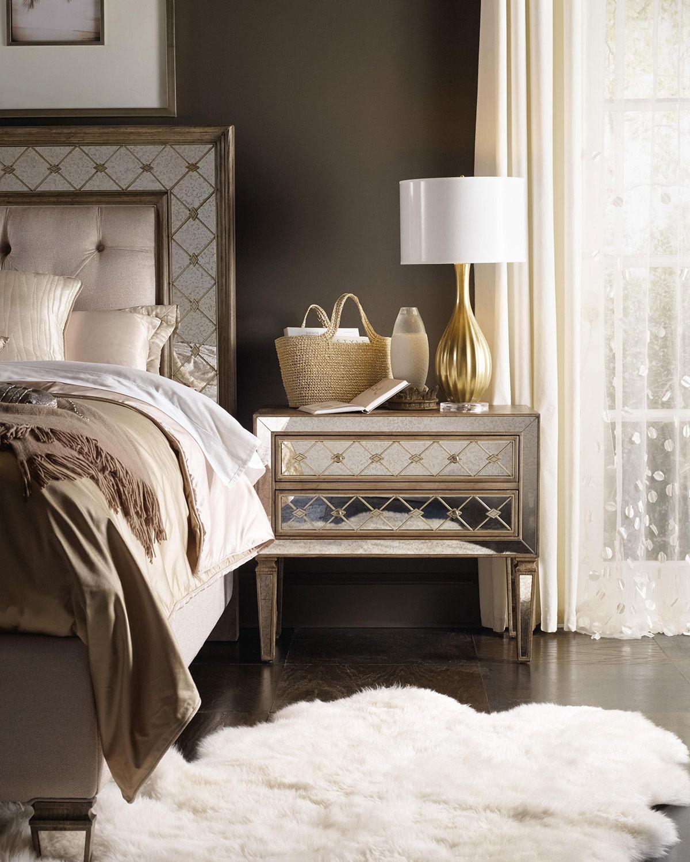 neiman marcus bedroom furniture. Hooker Furniture Ilyse Mirrored Bedroom \u0026 Matching Items | Neiman Marcus