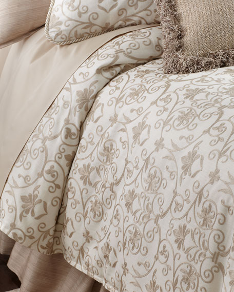 Isabella Collection by Kathy Fielder Queen Charlotte Duvet
