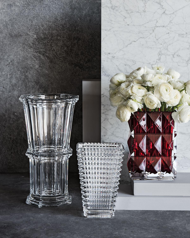 vase rois by vases of baccarat de wanders la foret marcel pair