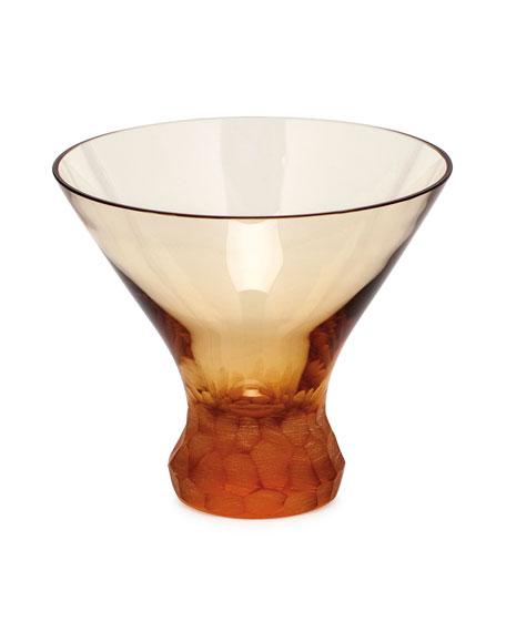 Topaz Pebbles Stemless Martini