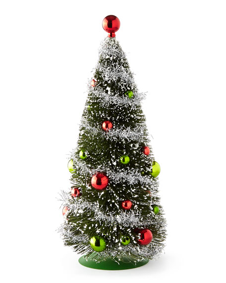 "Green 10.5"" Tabletop Christmas Tree"