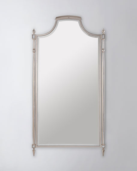 Conti Mirror in Silver