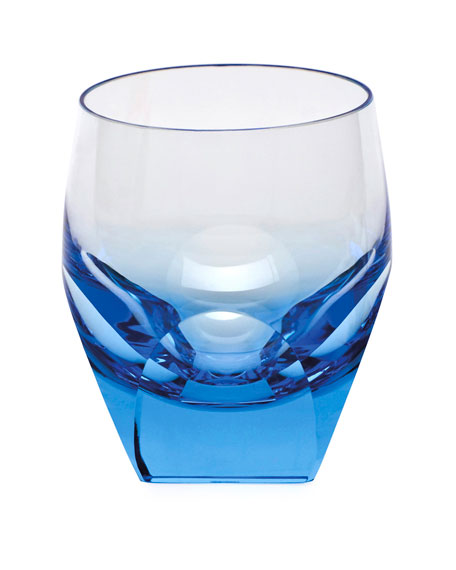 Moser Aquamarine Bar Double Old-Fashioned