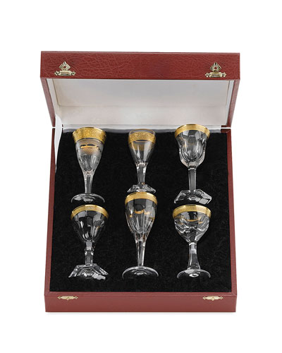 Liqueur Glasses, 6-Piece Set