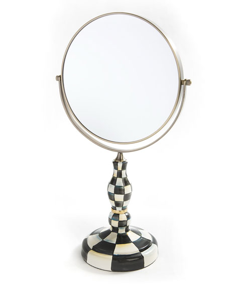 MacKenzie-Childs Courtly Check Vanity Mirror