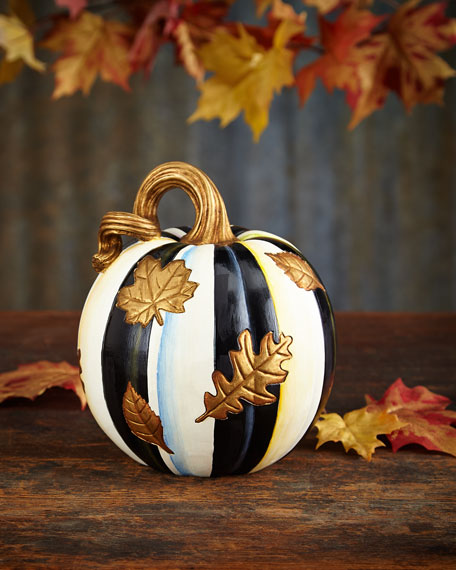 FALLING LEAVES PUMPKIN-SMALL